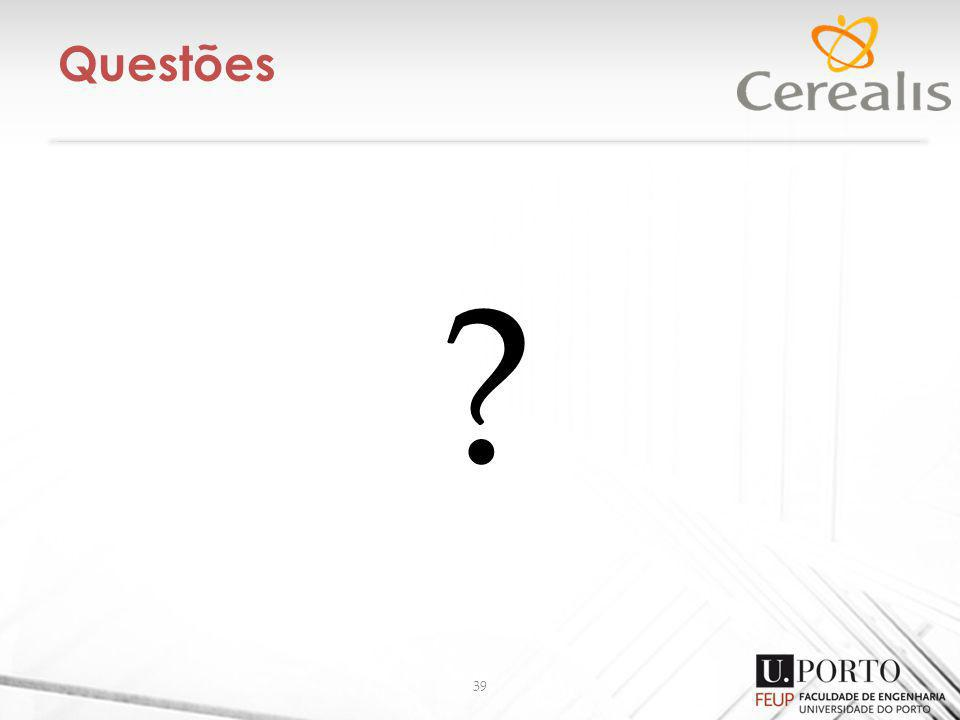 Questões 39 ?