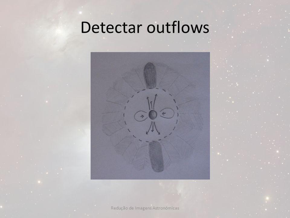 Detectar outflows Redução de Imagens Astronómicas