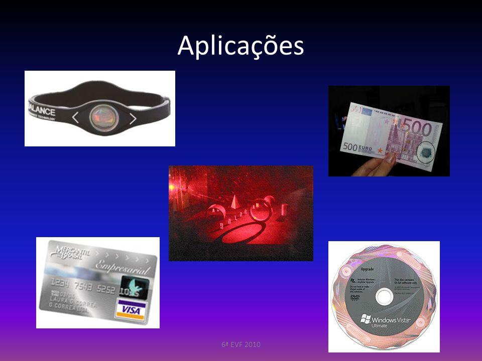 Aplicações 6ª EVF 2010
