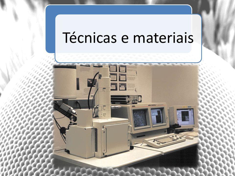 Técnicas e materiais