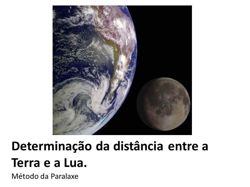 Determinação da distância entre a Terra e a Lua. Método da Paralaxe