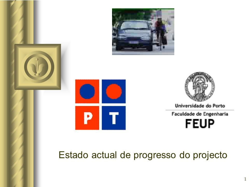 1 Estado actual de progresso do projecto