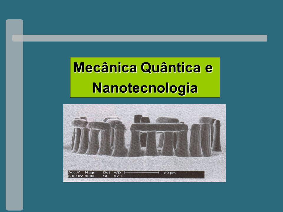 Escola de Física3-5 Setembro 2007 Mecânica Quântica e Nanotecnologia Mecânica Quântica e Nanotecnologia