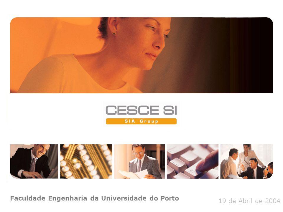 Abril 2004 Jorge Portugal (jportugal@cesce.pt) AVISO Informação sobre a apresentação: Elaborada por Jorge Portugal, Business Sales Consultant, CESCE S.I., Abril 2004.
