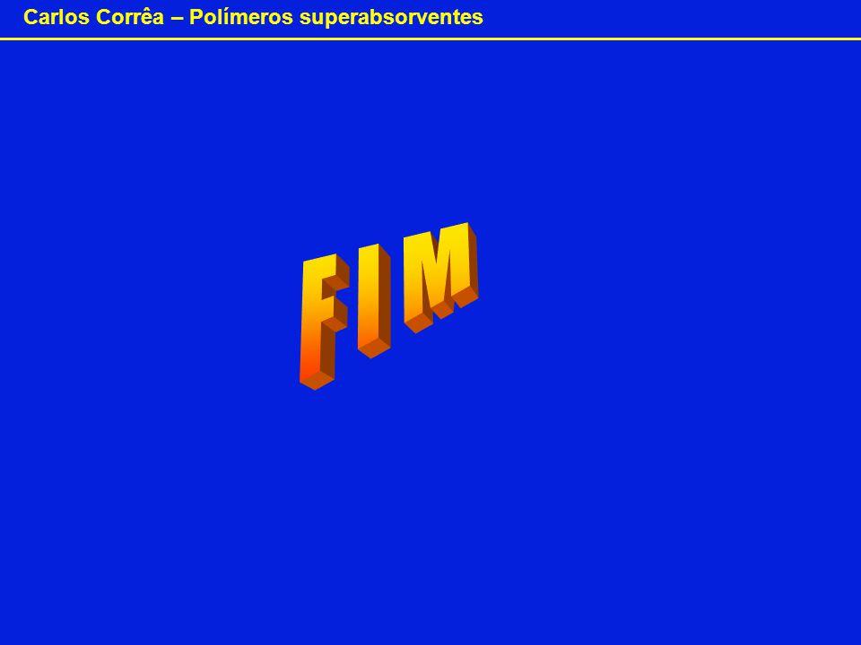Carlos Corrêa – Polímeros superabsorventes