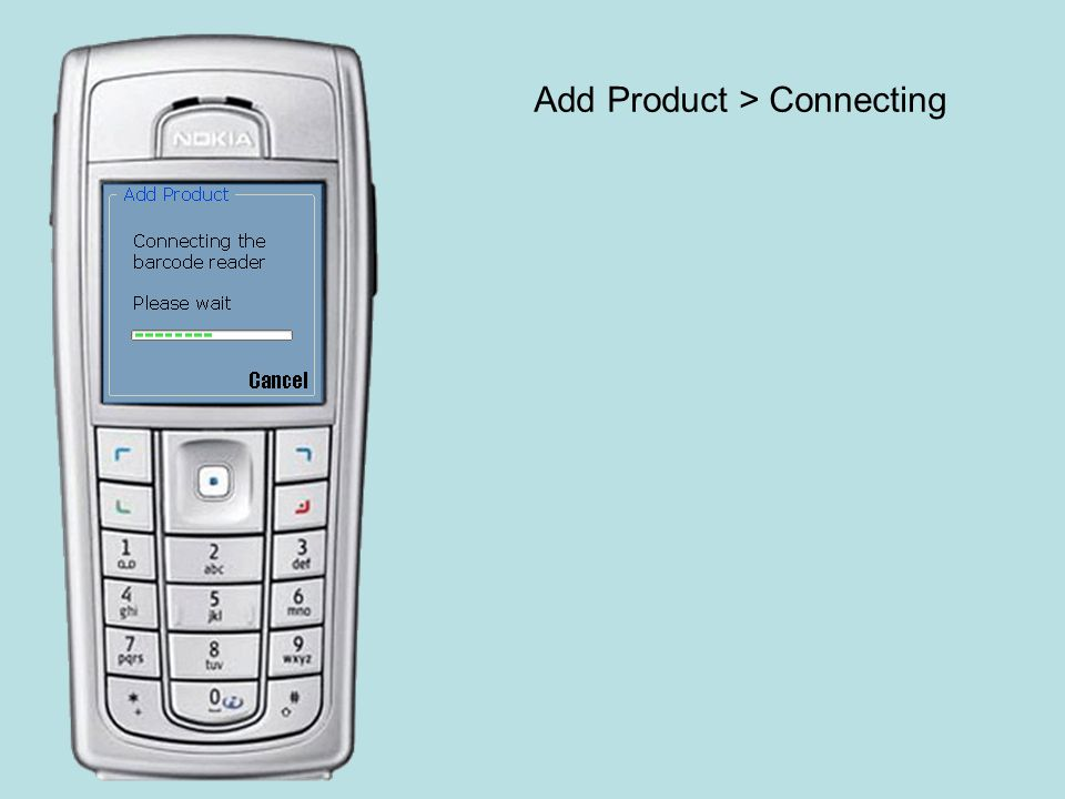 Add Product > Create new shopping list