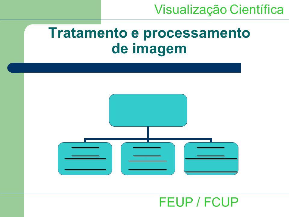 Visualização Científica FEUP / FCUP Tratamento e processamento de imagem