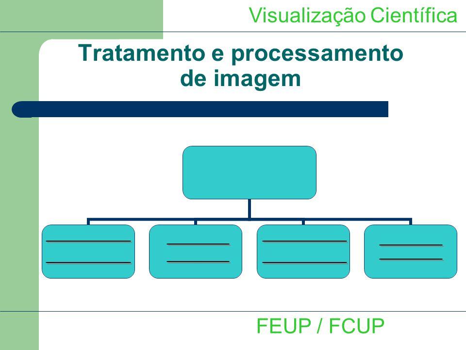 Tratamento e processamento de imagem Visualização Científica FEUP / FCUP
