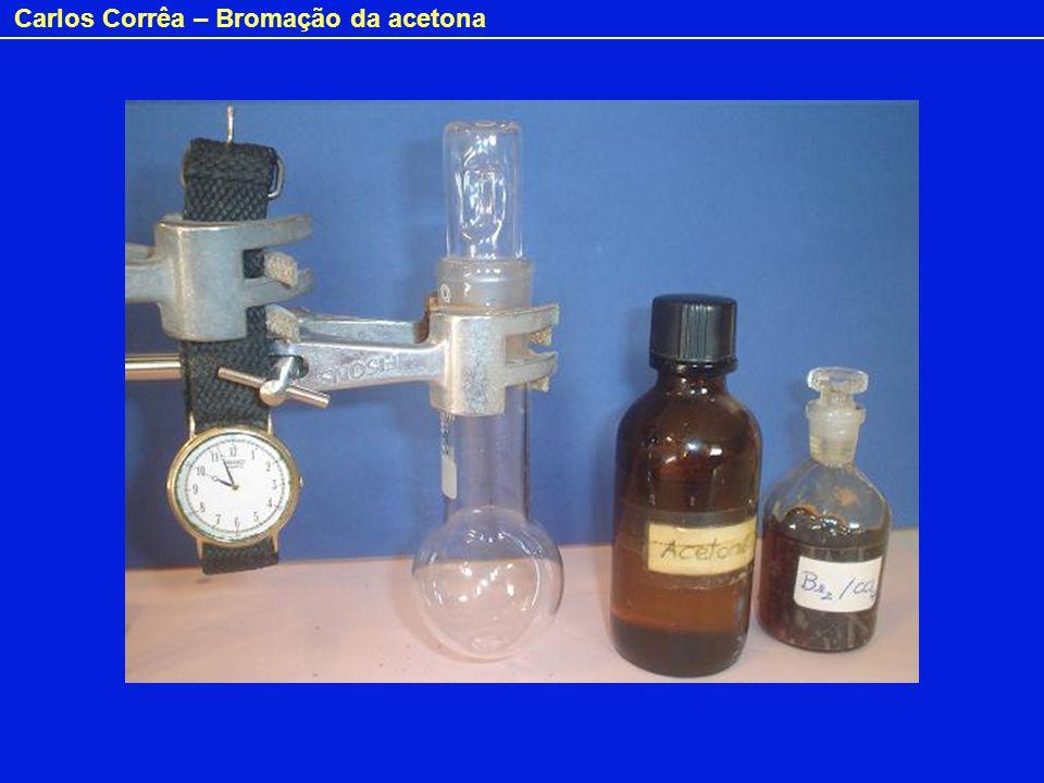 Carlos Corrêa – Bromação da acetona