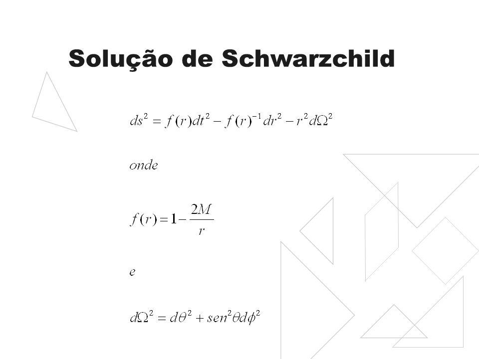 Solução de Schwarzchild