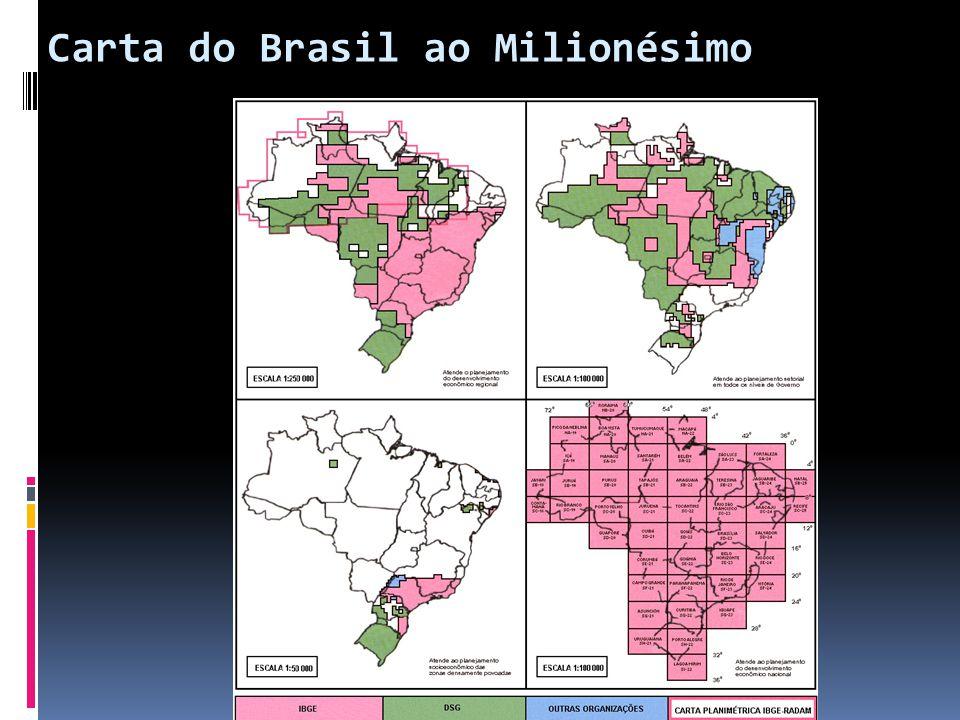 Carta do Brasil ao Milionésimo 15:26:15 46 folhas articuladas