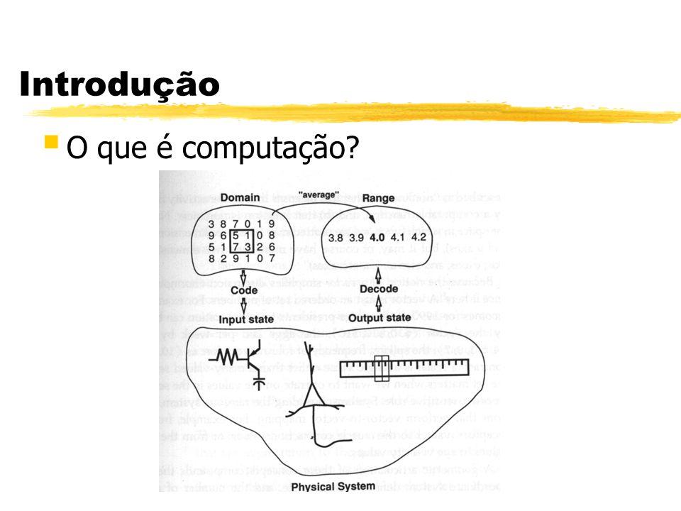 Introdução § O que é computação?