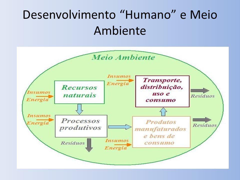Desenvolvimento Humano e Meio Ambiente