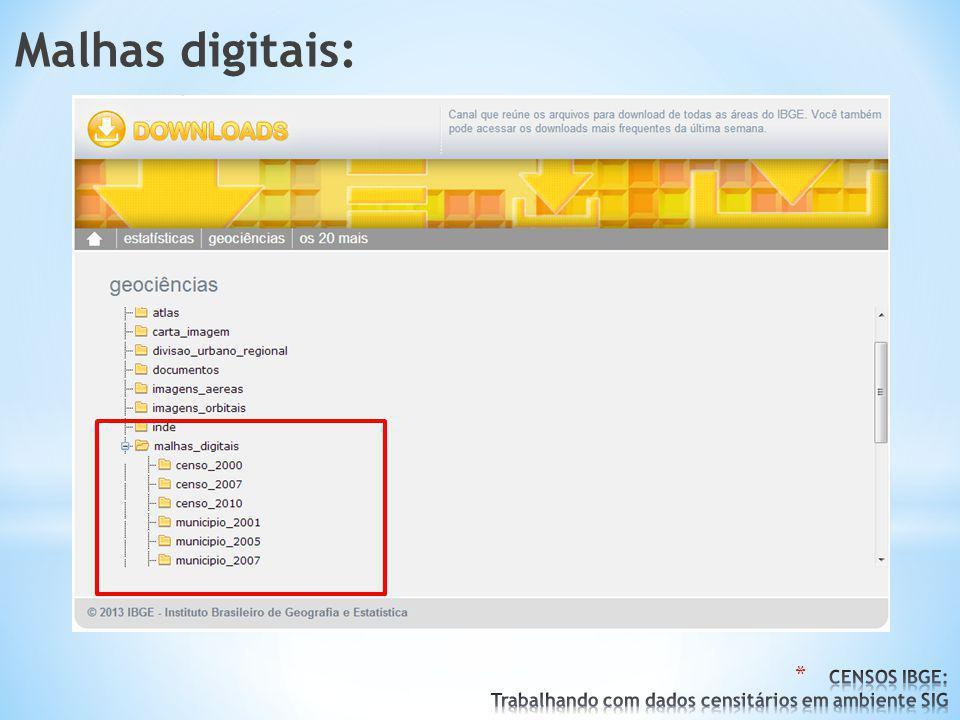 Malhas digitais: