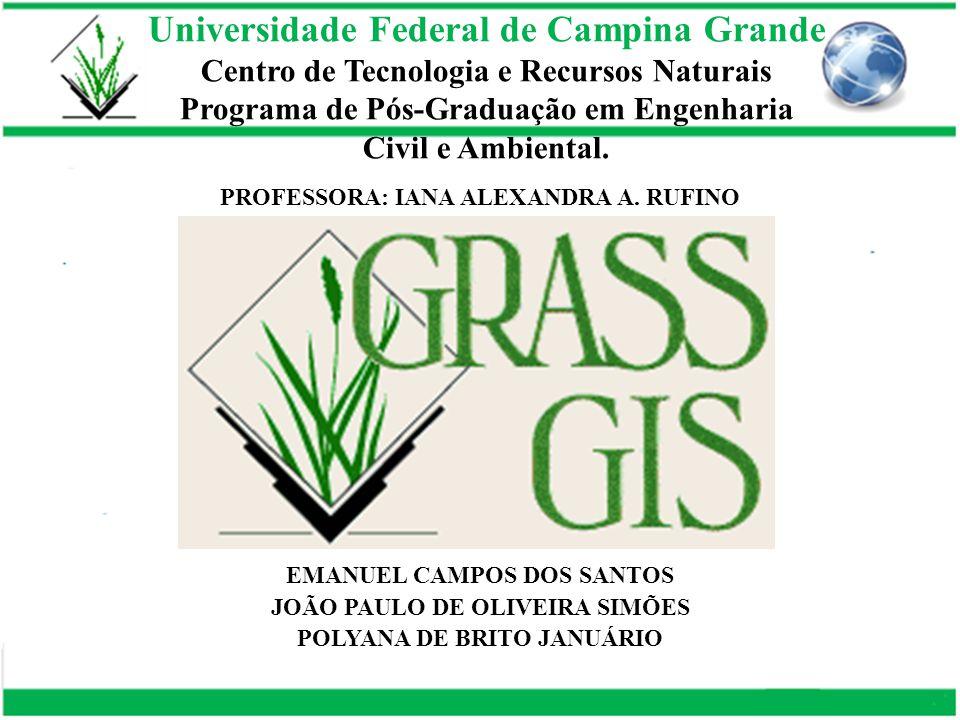 Universidade Federal de Campina Grande Centro de Tecnologia e Recursos Naturais Programa de Pós-Graduação em Engenharia Civil e Ambiental. EMANUEL CAM