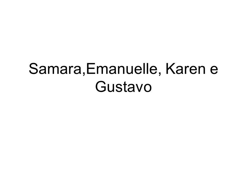Samara,Emanuelle, Karen e Gustavo