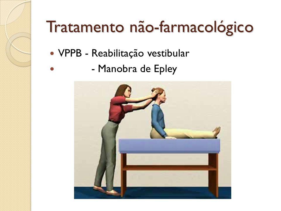 Tratamento não-farmacológico VPPB - Reabilitação vestibular - Manobra de Epley
