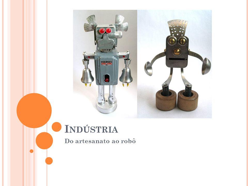 I NDÚSTRIA Do artesanato ao robô