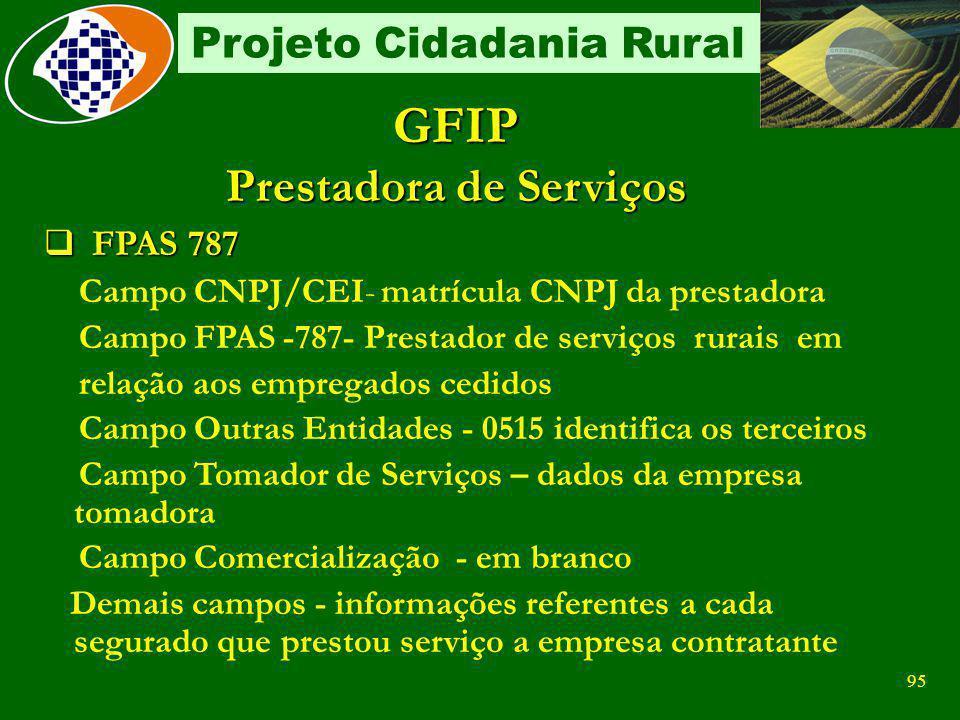 94 Projeto Cidadania Rural GPS Eletrônica Sobre Retenção 2.750,00TOTAL AT/JUROS/MULTA VALOR DE OUTRAS ENTIDADES 2.750,00VALOR INSS 00.000.000/0000-00I