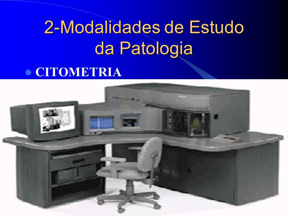 2-Modalidades de Estudo da Patologia CITOMETRIA