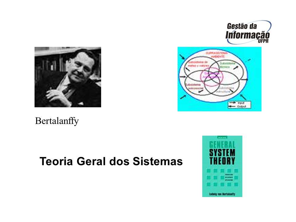 TEORIA DOS SISTEMAS ORIGEM (1950 - 1968) LUDWIG VON BERTALANFFY - BIÓLOGO INTEGRAÇÃO DAS CIÊNCIAS NATURAIS E SOCIAIS INTEGRAÇÃO DAS CIÊNCIAS NATURAIS E SOCIAIS MATEMÁTICOS E SOCIÓLOGOS BUSCAVAM UM PONTO MATEMÁTICOS E SOCIÓLOGOS BUSCAVAM UM PONTO EM COMUM NA INVESTIGAÇÃO DE COMO AS EM COMUM NA INVESTIGAÇÃO DE COMO AS ORGANIZAÇÕES FUNCIONAVAM COMO SISTEMAS ORGANIZAÇÕES FUNCIONAVAM COMO SISTEMASPREMISSAS OS SISTEMAS EXISTEM DENTRO DE SISTEMAS OS SISTEMAS EXISTEM DENTRO DE SISTEMAS OS SISTEMAS SÃO ABERTOS OS SISTEMAS SÃO ABERTOS A FUNÇÃO DO SISTEMA DEPENDE DA SUA A FUNÇÃO DO SISTEMA DEPENDE DA SUA ESTRUTURA ESTRUTURA 4