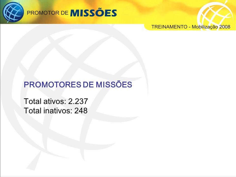 Programa de Adoção Missionária (PAM) Nunca na história da JMM alcançamos resultados tão surpreendentes.