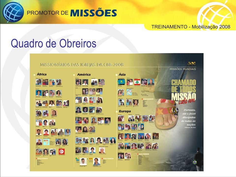 CONCEITO DA CAMPANHA Na campanha anterior, o tema de missões enfocou a responsabilidade da igreja como sendo luz para as nações.
