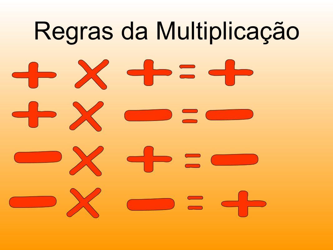 Regras da Multiplicação