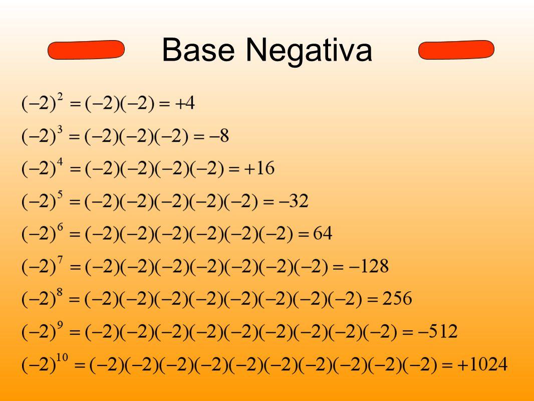 Base Negativa