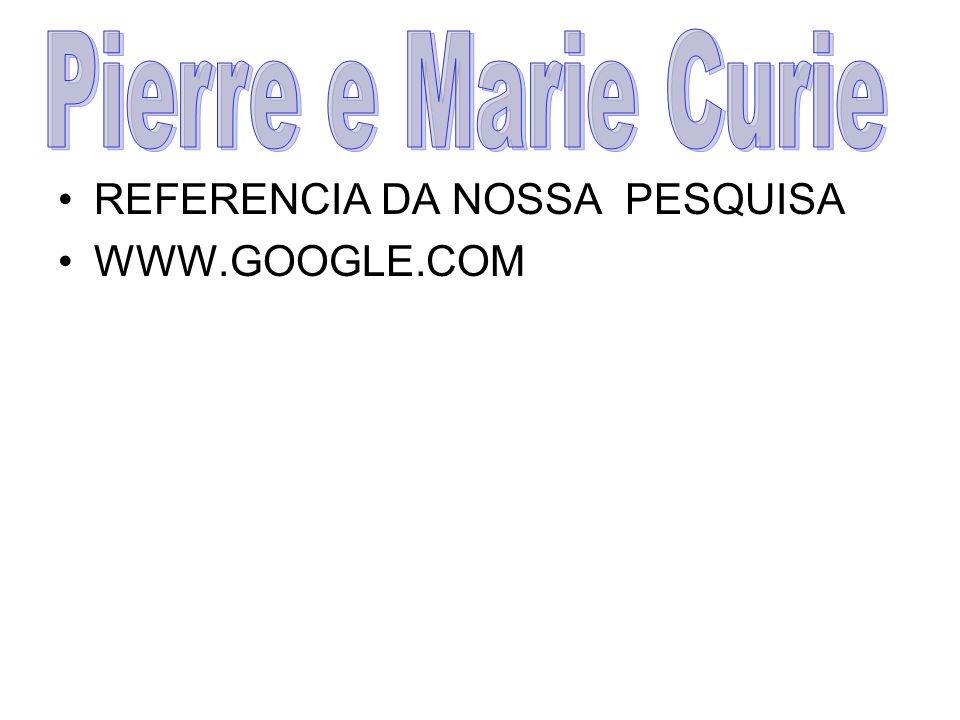 REFERENCIA DA NOSSA PESQUISA WWW.GOOGLE.COM