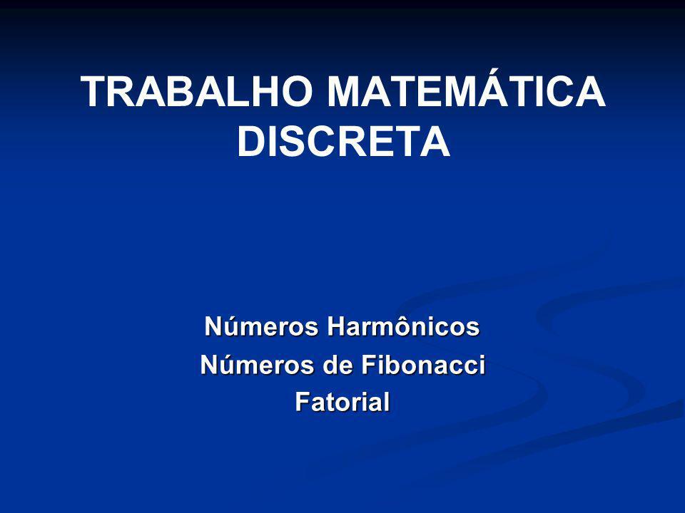 Números Harmônicos