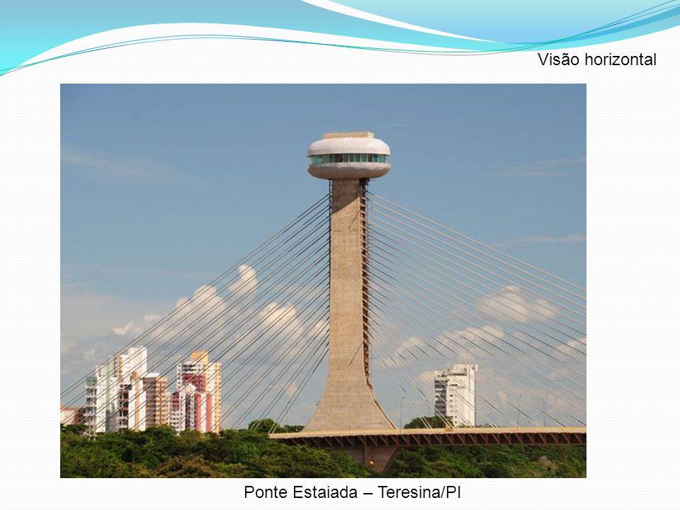 Visão horizontal Ponte Estaiada – Teresina/PI