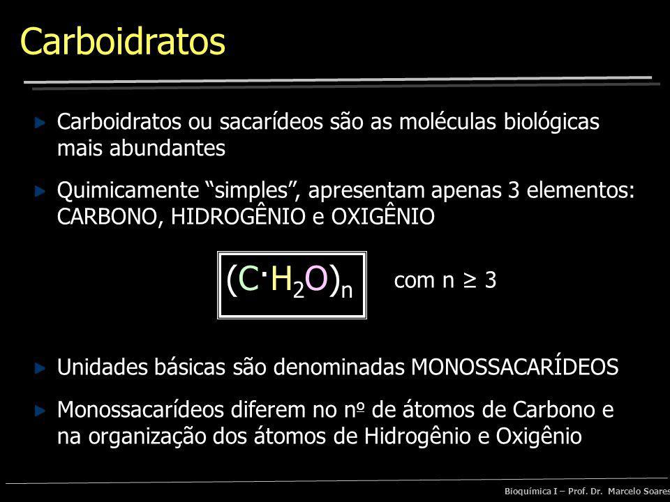 Bioquímica – Prof. Dr. Marcelo Soares Carboidratos