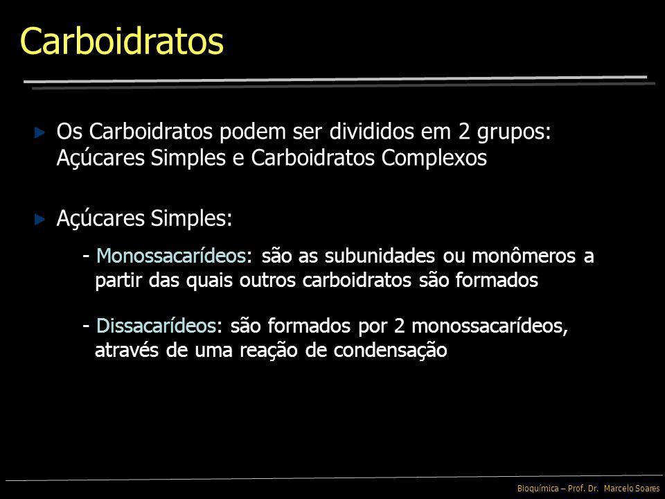 Bioquímica – Prof. Dr. Marcelo Soares Variação estrutural é fundamental para atividade biológica Organização nas Proteínas e na superfície das células