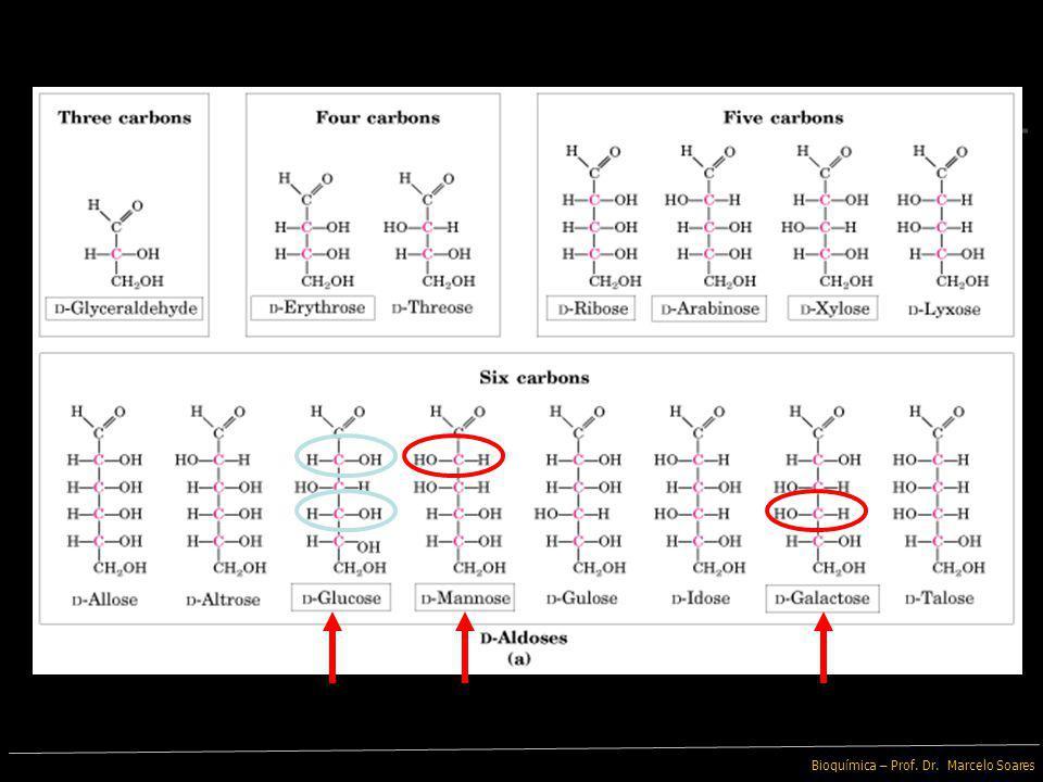 Bioquímica – Prof. Dr. Marcelo Soares Monossacarídeos