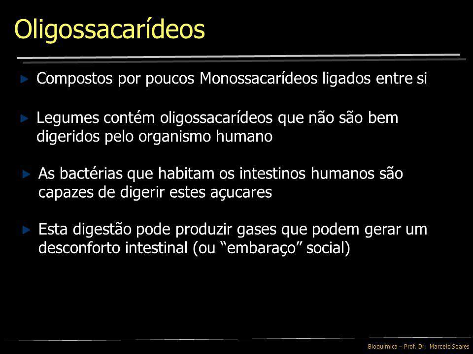 Bioquímica – Prof. Dr. Marcelo Soares Formação de Dissacarídeos Ligações Glicosídicas