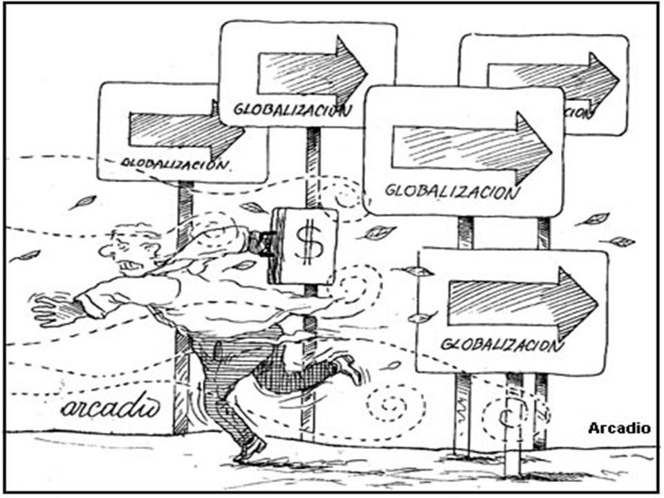 CARACTERÍSTI CAS DA GLOBALIZAÇÃ O