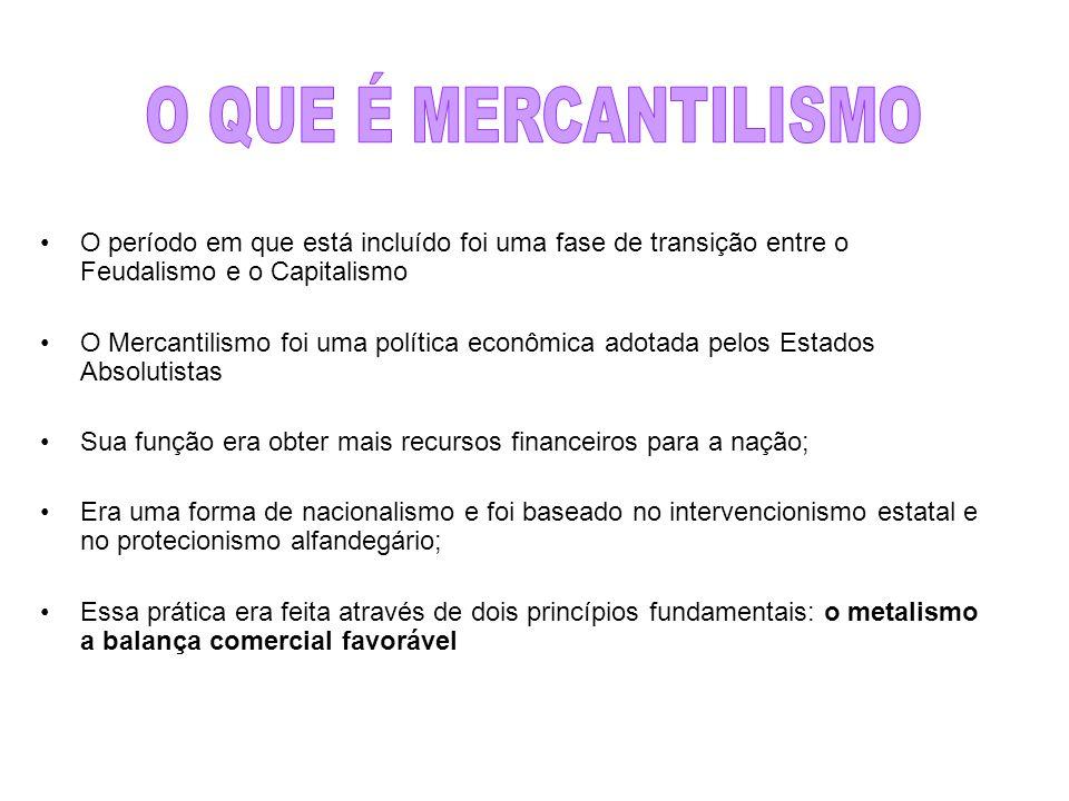 Crise do mercantilismo colonial O que gerou a crise: O esgotamento dos recursos naturais dentro da colônia, excessivamente explorada.