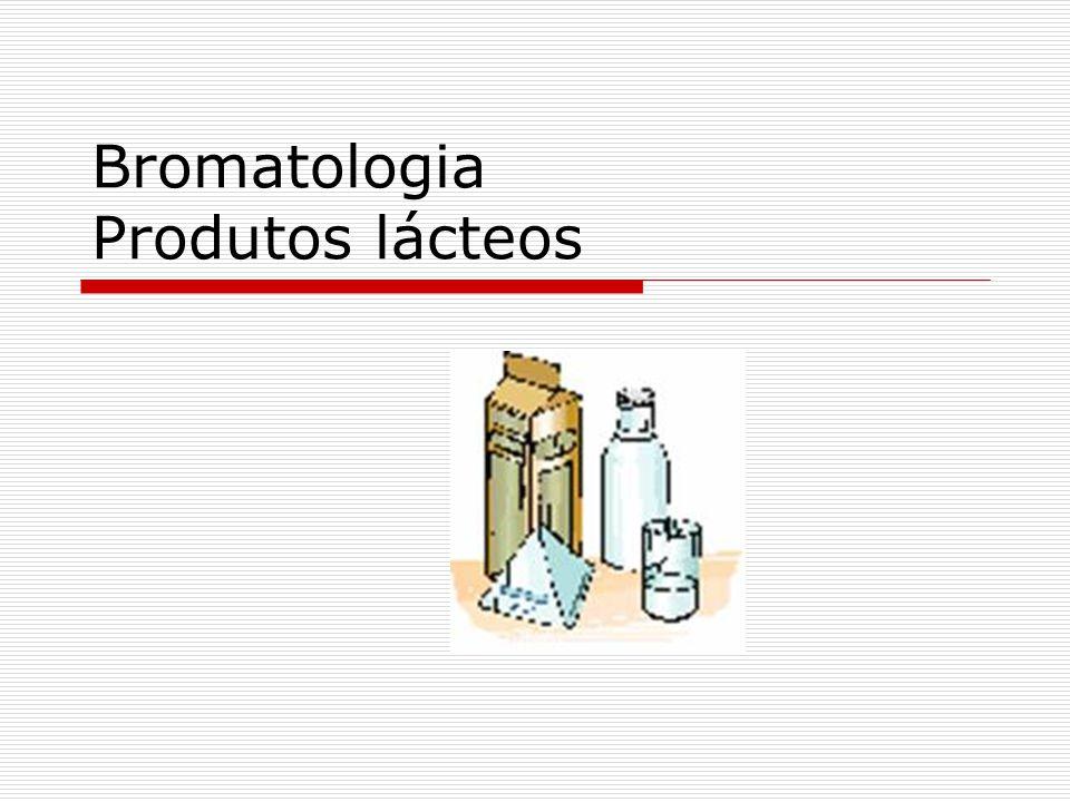 Bromatologia Produtos lácteos