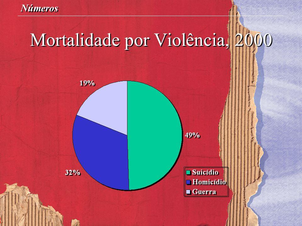 Mortalidade por Violência, 2000 Números