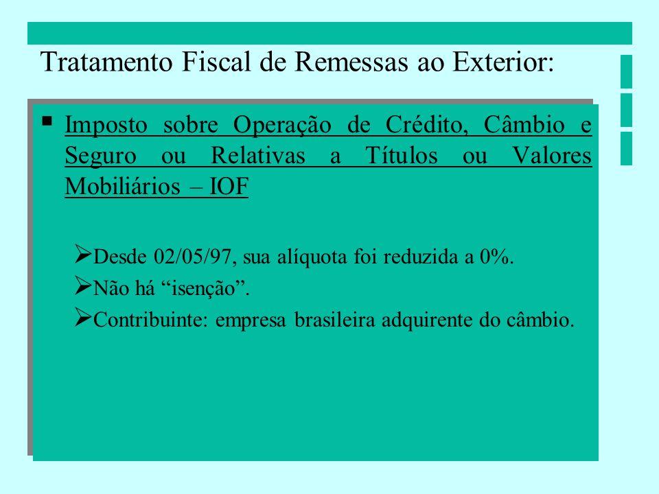 Contribuição de Intervenção no Domínio Econômico CIDE Breve histórico: Fundamento: art.