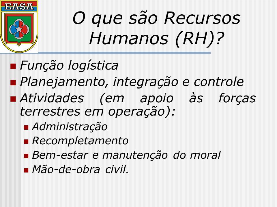 Áreas e normas funcionais da função logística RH.