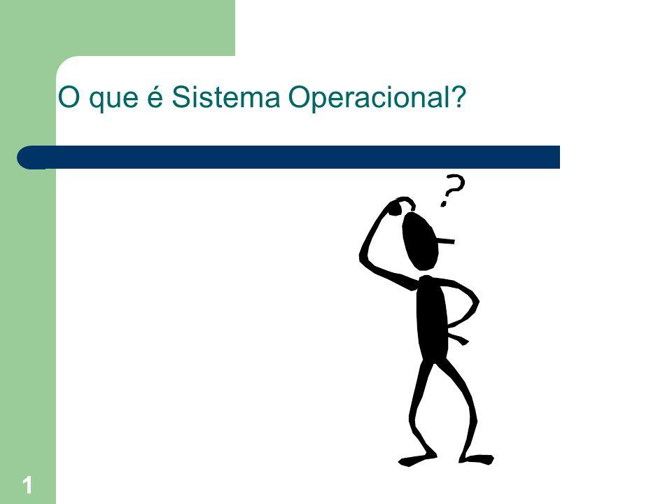 1 O que é Sistema Operacional?