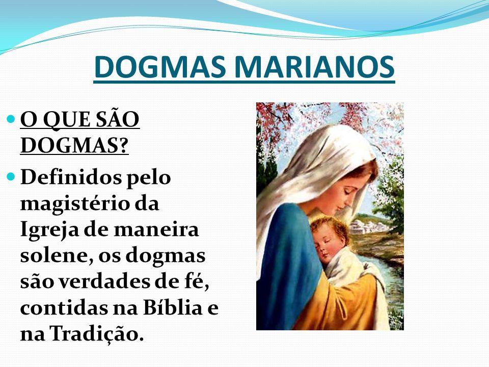 MÃE DE DEUS Em seu mistério profundo, Maria é Mãe de Deus.