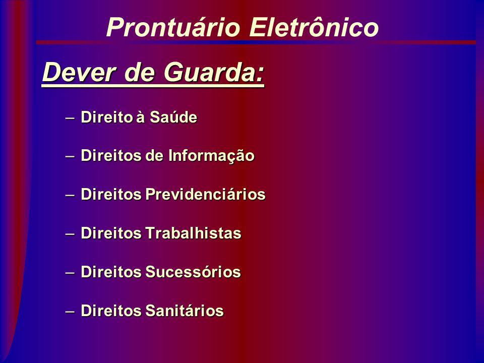 Dever de Confidencialidade: Código de Ética Médica (Segredo Médico): art.. 105: Proteção ao trabalhador. art.. 106: Proteção contra seguradoras. art..