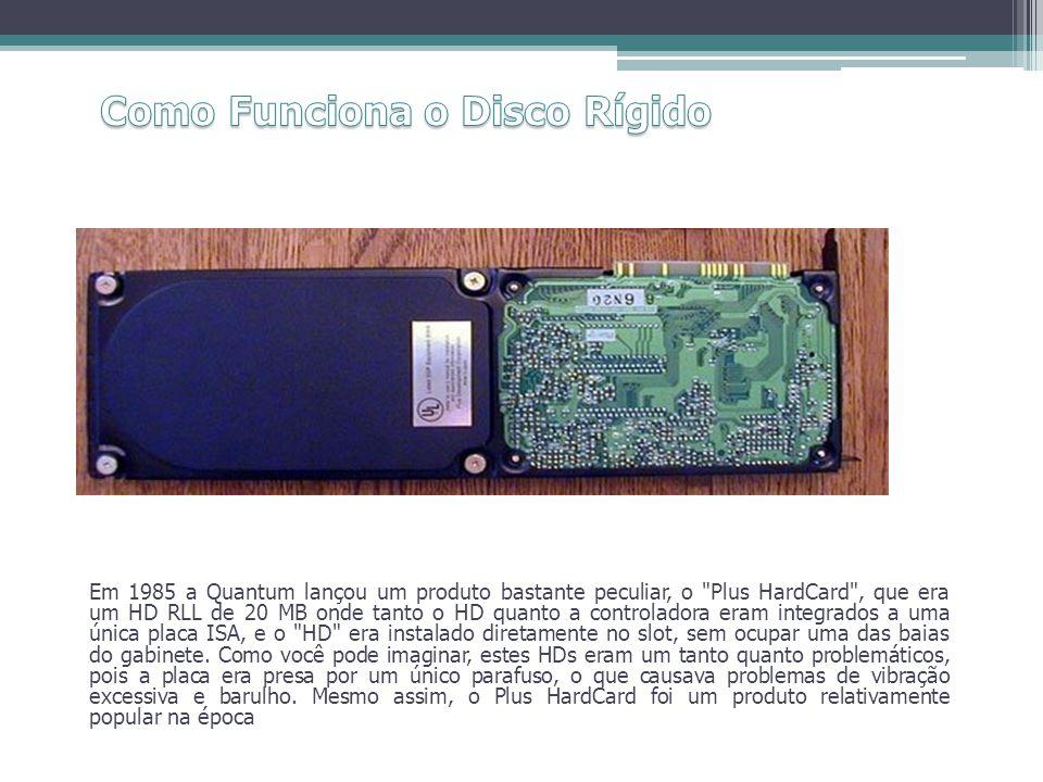 Em 1985 a Quantum lançou um produto bastante peculiar, o