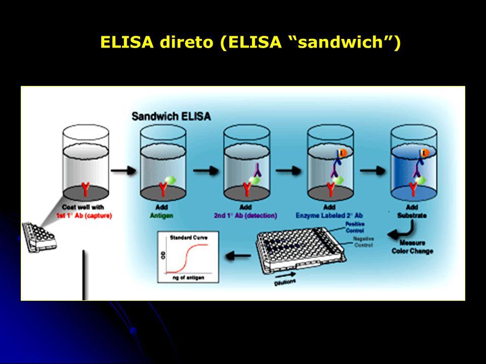 ELISA direto (ELISA sandwich)