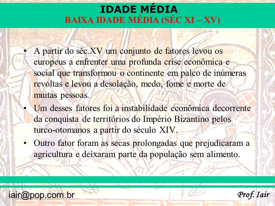 IDADE MÉDIA Prof.