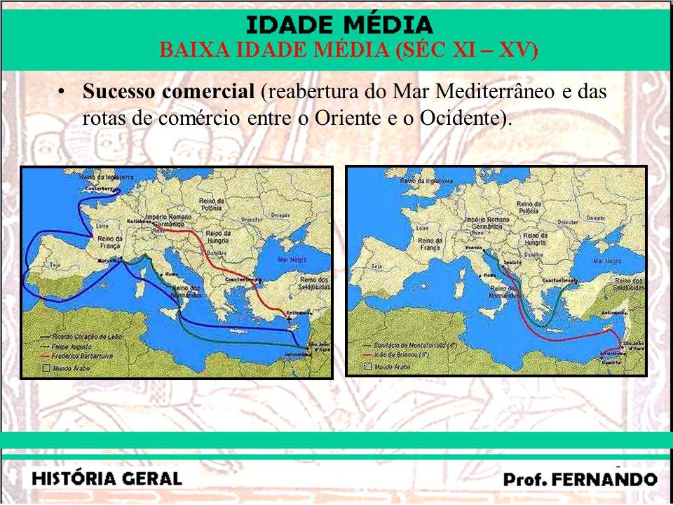 –4 – O RENASCIMENTO COMERCIAL: –Cidades italianas.