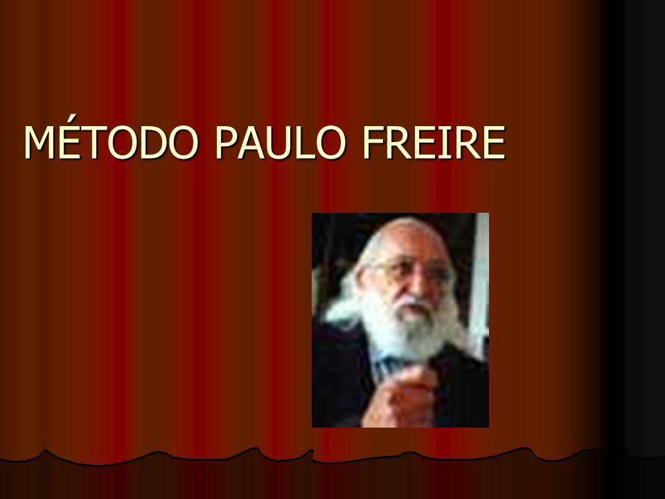 Paulo Freire marcou uma ruptura na história pedagógica de seu país e da América Latina.